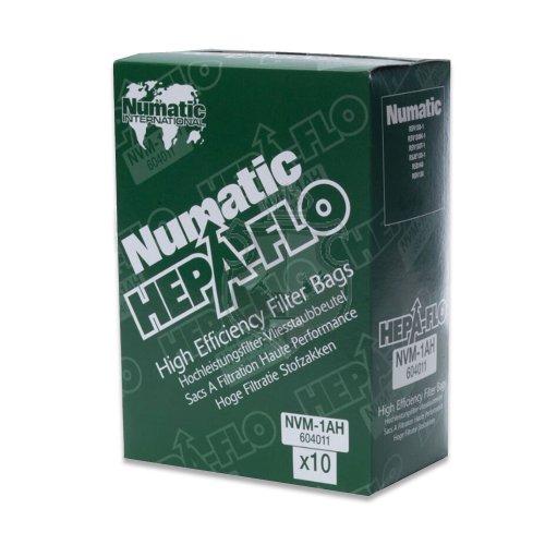 Numatic Worki NVM 1CH ( op. 10 szt) HEPA-FLO 9l. do okurzaczy HVR200 NVH180 PSP180