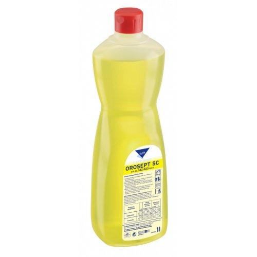 OROSEPT SC 1l. chlorowy środek do mycia i dezynfekcji obszarów mokrych pH 13