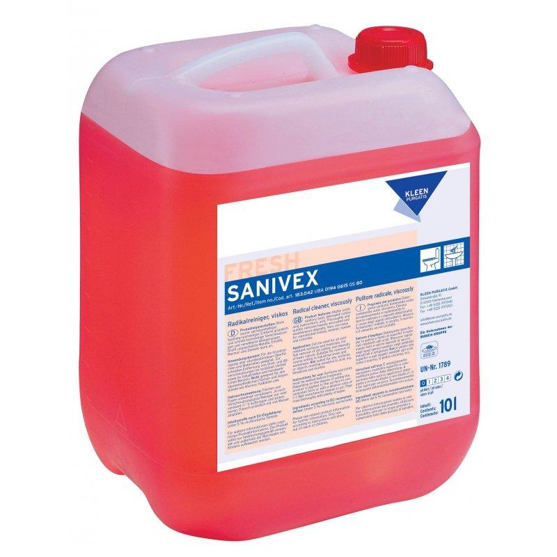 Kleen SANIVEX 1 l pH 0,5 typu kamień i rdza Kleen