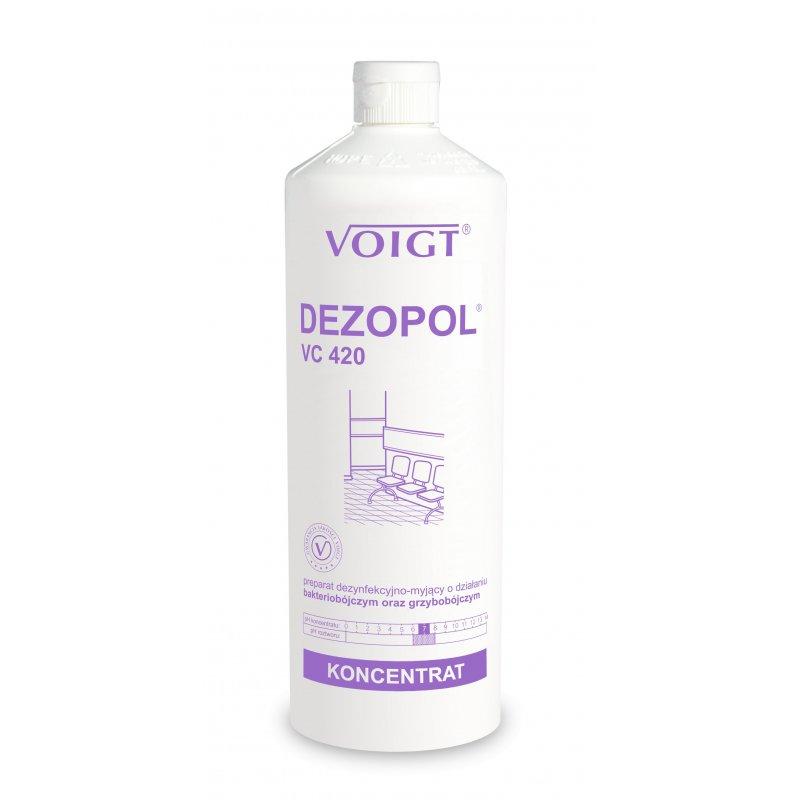 VC 420 DEZOPOL 1l dezyfekcja powierzchni B,G