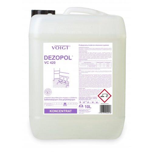 VC 420 DEZOPOL 10l dezynfekcja powierzchni B,G