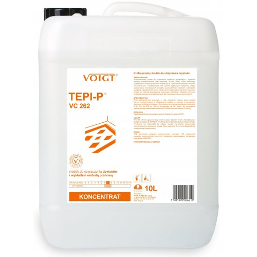 VC 262 TEPI-P 10l do prania ręcznego i szamponowania dywanów Voigt