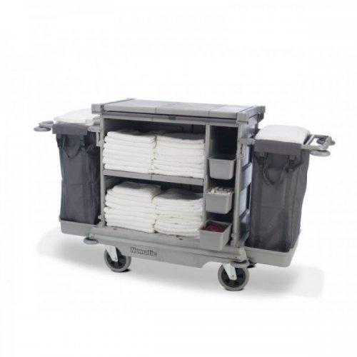 NKL 17 FF Wózek hotelowy z roletą 2x 100L NUMATIC