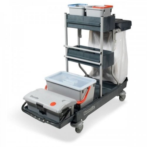 SCG 1415 SGA 4 Wózek serwisowy do dezynfekcji NUMATIC | OPCJA 3