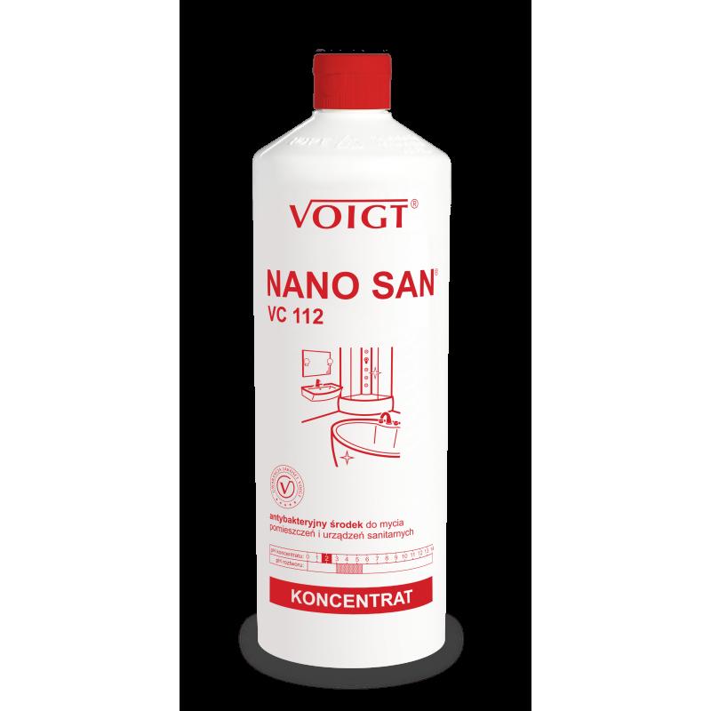 VC 112 1l. NANO SAN antybakteryjne do sanitariatów pH 2