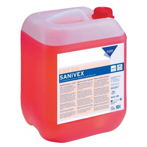 SANIVEX 10l. silny kwaśny środek do doczyszczania sanitariatów pH 0,5