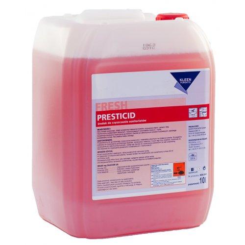 PRESTICID 10l silny kwaśny środek do doczyszczania sanitariatów z inhibitorami korozji  pH 1