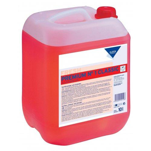 PREMIUM nr 1 CLASSIC 10l. do bieżącego mycia i doczyszczania sanitariatów pH 1