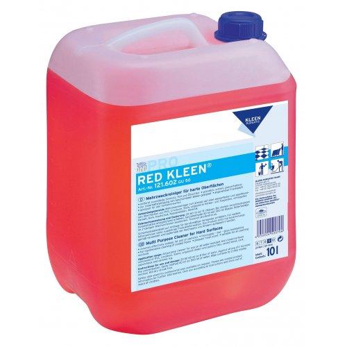 RED KLEEN 10l. myjąco pielęgnujący do wszystkich powierzchni wodoodpornych