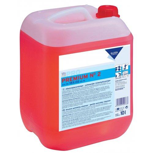 PREMIUM nr 2 ECO 10l. ekologiczny do bieżącego mycia sanitariatów pH 2