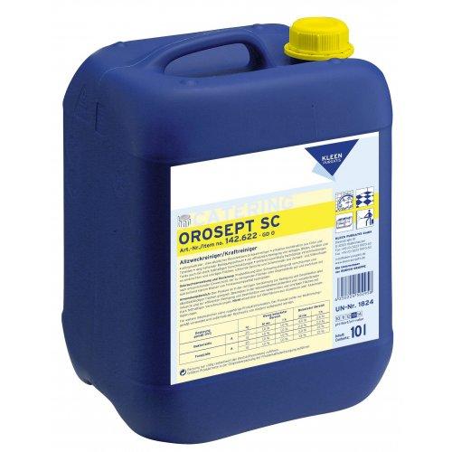 OROSEPT SC 10 l. chlorowy środek do mycia i dezynfekcji obszarów mokrych pH 13