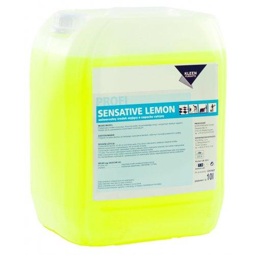SENSITIVE LEMON ECO 10l. ekologiczny środek do bieżącego mycia