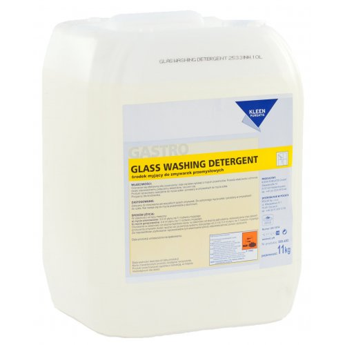 GLASS WASHING DETERGENT 12 kg