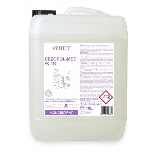 VC 410 DEZOPOL-MED 10l. do dezynfekcji bakteriobójczy i grzybobójczy