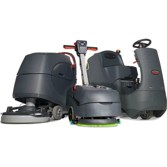 Maszyny czyszczące kompaktowe i przemysłowe kablowe oraz bateryjne marki Numatic